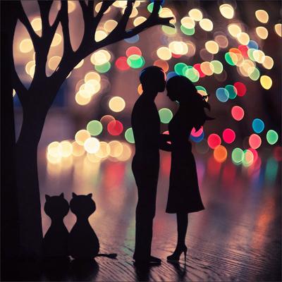 couple-lights-dream-bokeh-candles-cat-soul-love-ingolden.gr
