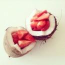 Ενυδατική – αντιγηραντική μάσκα προσώπου με φράουλες!