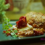 Κοτόπουλο με τραχανά και πιπεριά Φλωρίνης