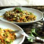 Σαλάτα με κινόα και λαχανικά