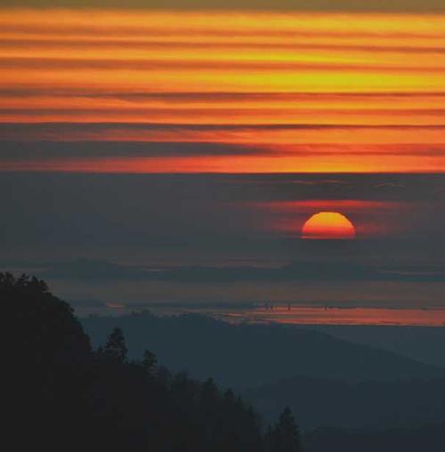 Ίσως το ωραιότερο ηλιοβασίλεμα της ζωής μου