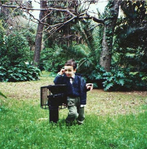 Μικρός ήμουν μοντέλο.