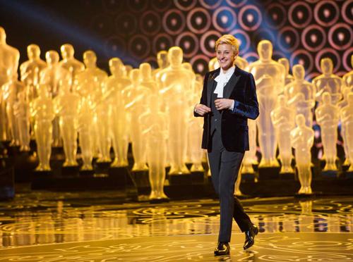 Ellen DeGeneres || 2014 Yves Saint Laurent