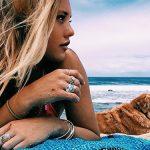Στην παραλία με το σκύλο μας